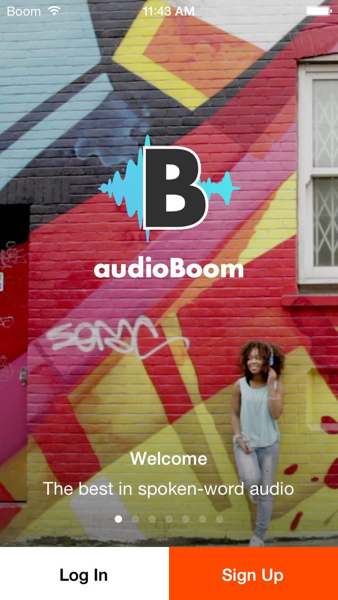 Audioboom app